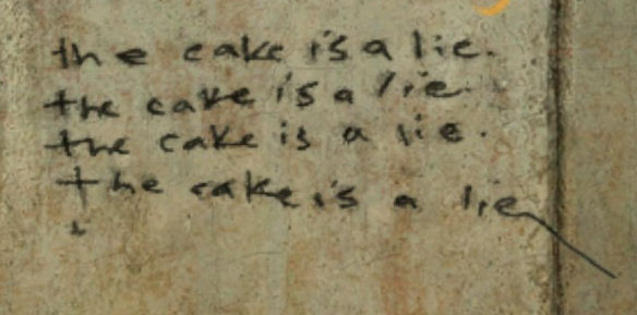[Image - 34053] | The Cake Is a Lie | Know Your Meme