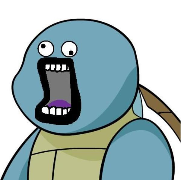 Image 34741 give squirtle a face know your meme - Derpy squirtle ...