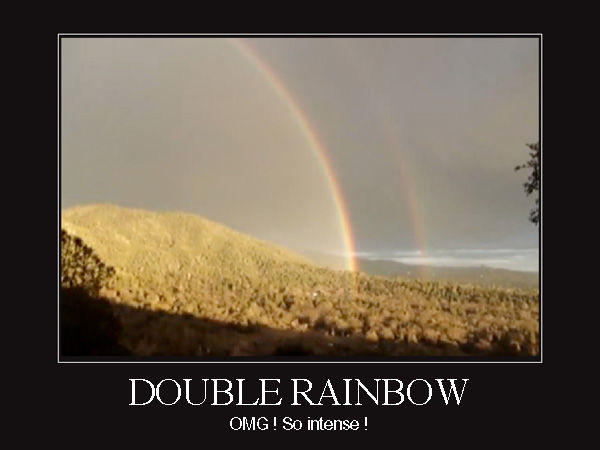 Funny Rainbow Meme : Image double rainbow know your meme