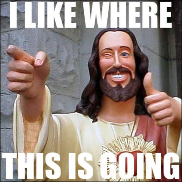 1233713991799 buddy christ know your meme,Buddy Jesus Meme