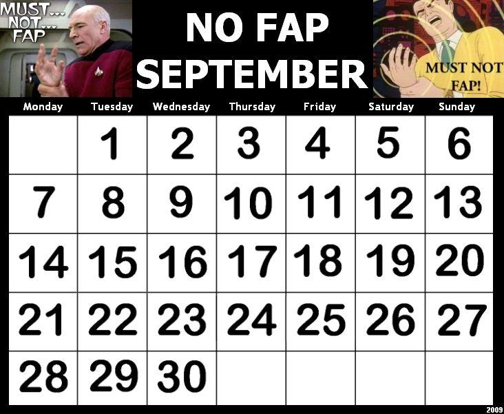 [Image - 74838] - No Fap September / No Fap Months - Know Your Meme[Image - 74838] - No Fap September / No Fap Months - ?
