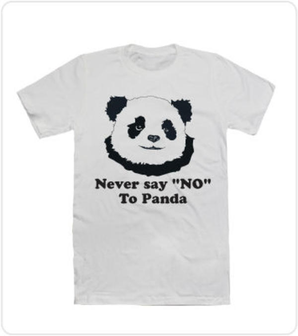 never say no to panda Utilising dark and subtle humour, the 'never say no to panda' concept is revealed in a string of new tvcs, which show people refusing to eat panda cheese.