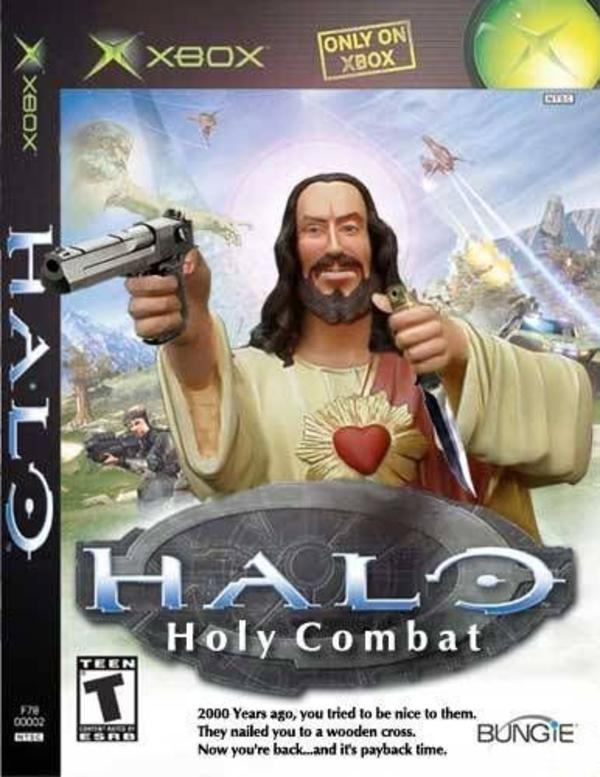 halo holy combat buddy christ trending images gallery know your meme,Buddy Jesus Meme