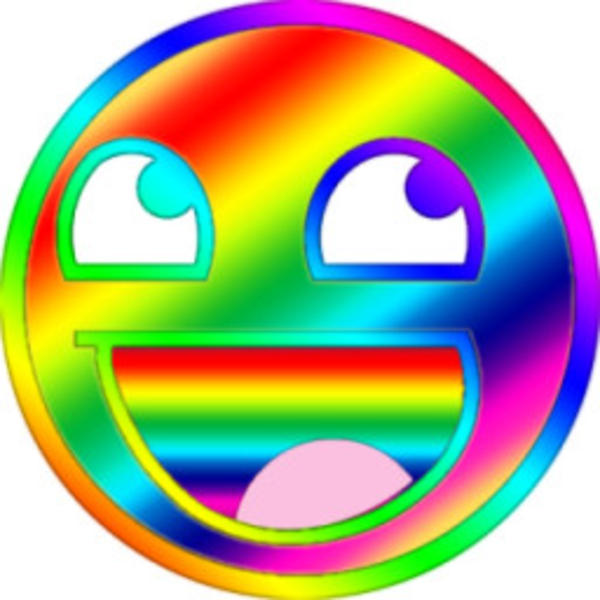 image 126141 awesome face epic smiley know your meme rh knowyourmeme com Yummy Smiley Face Clip Art Crazy Smiley Face Clip Art