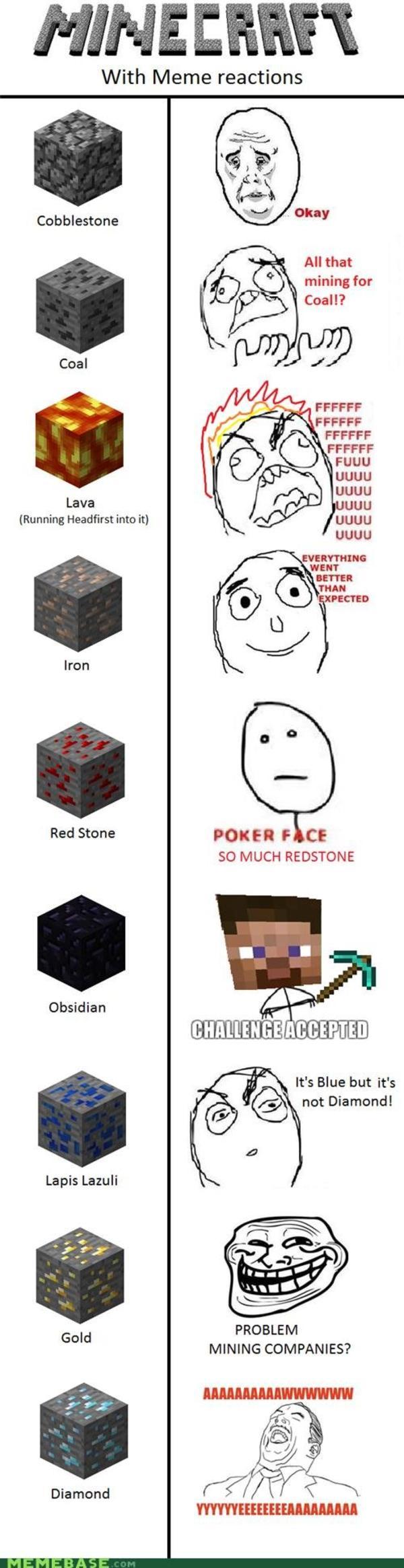 Minecraft Block Memes