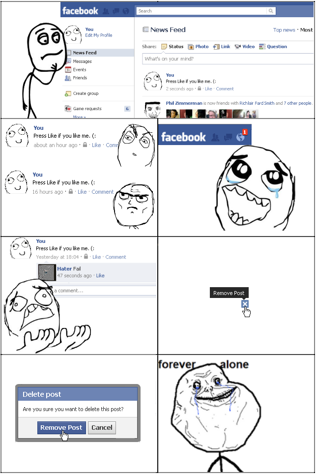 image 147830 forever alone know your meme
