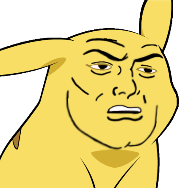 Funny Meme Faces Png : Image give pikachu a face know your meme