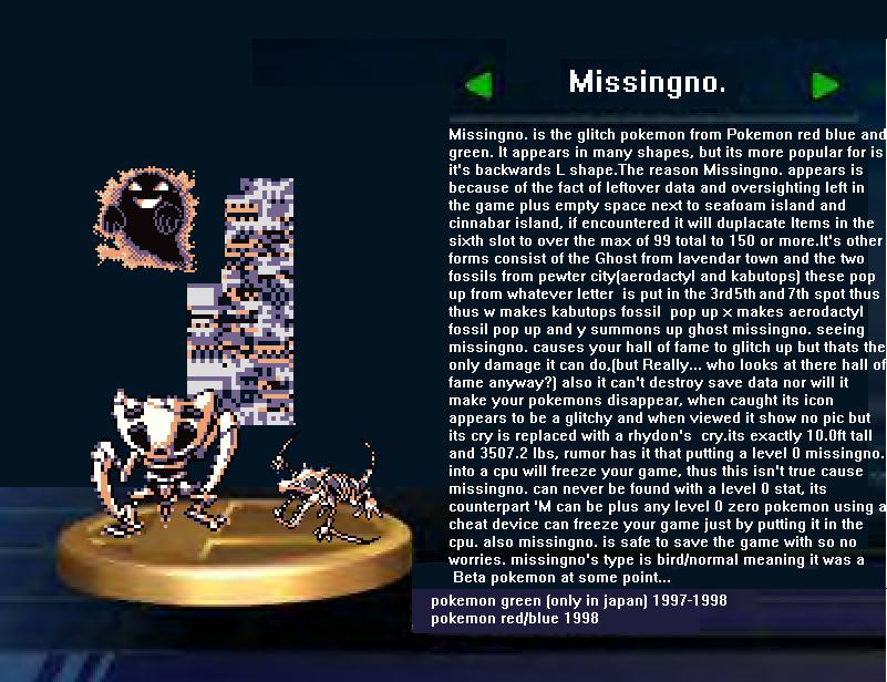 [Image - 166986] | MissingNo. | Know Your Meme
