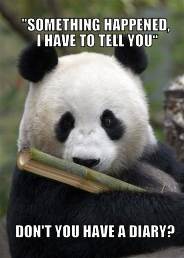 Image 172692 Leave Me Alone Panda Know Your Meme