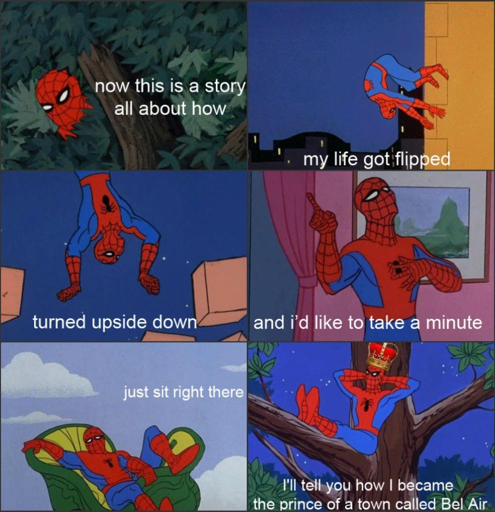 bel air image 208474] 60's spider man know your meme,Fresh Prince Of Bel Air Theme Song Meme