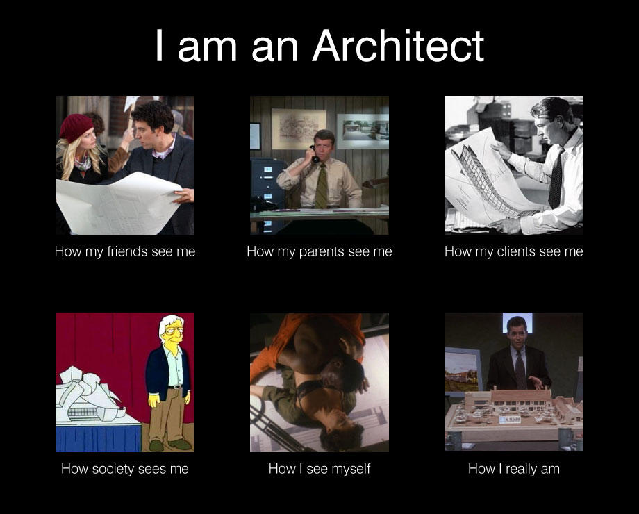 Image 252022 what people think i do what i really for How do architects think