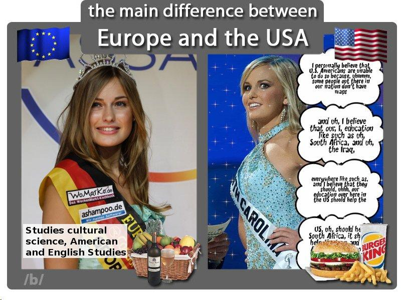 difference between american and european dating vs