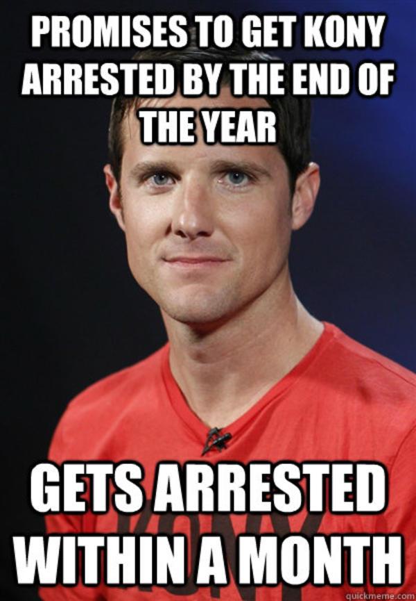 5ac know your meme faptivism kymdb kony 2012 jason russell gets,Kony Meme