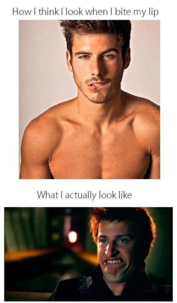 Image 272387 What You Think You Look Like Vs What