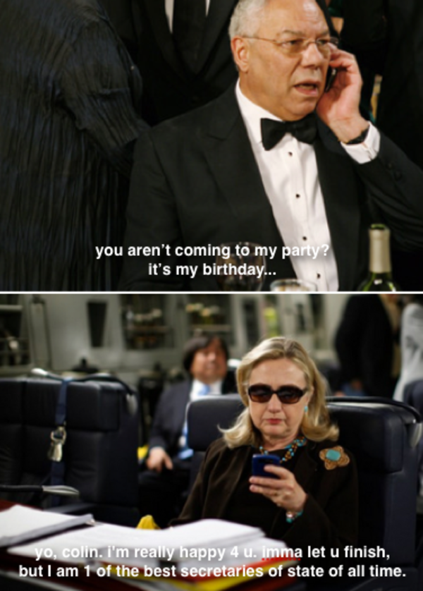 01c birthday texts from hillary know your meme,Hillary Birthday Meme