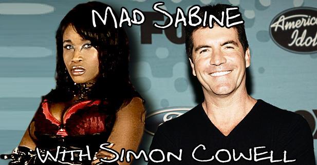 543 mad sabine mondestin with simon cowell mad sabine know your meme,Sabine Meme