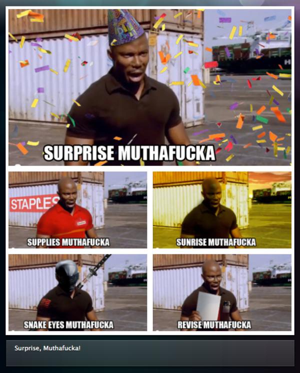 Surprise mother f meme