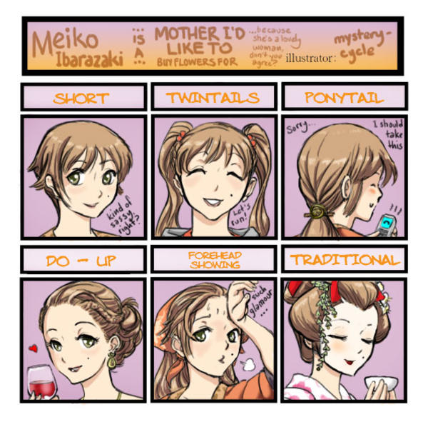 Image Katawa Shoujo Know Your Meme - Anime hairstyle and personality
