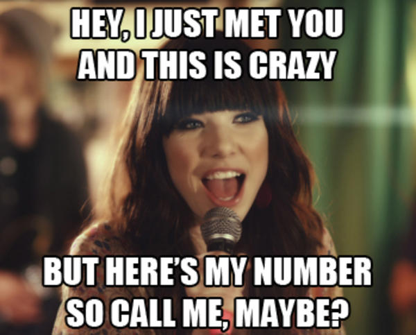[Image - 358396] | Call Me Maybe | Know Your Meme