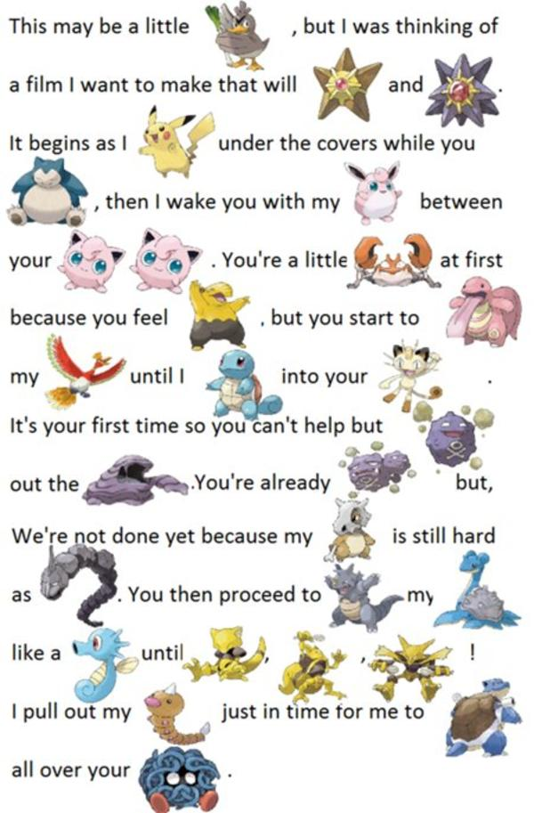 Clean Pokepuns
