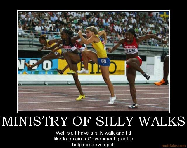 [Image - 364619] | The Ministry of Silly Walks | Know Your ...