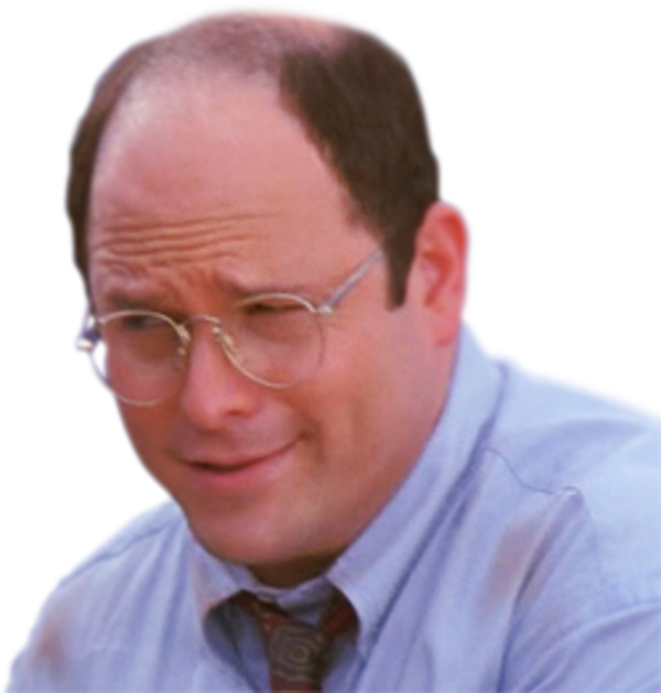 Image result for george costanza face