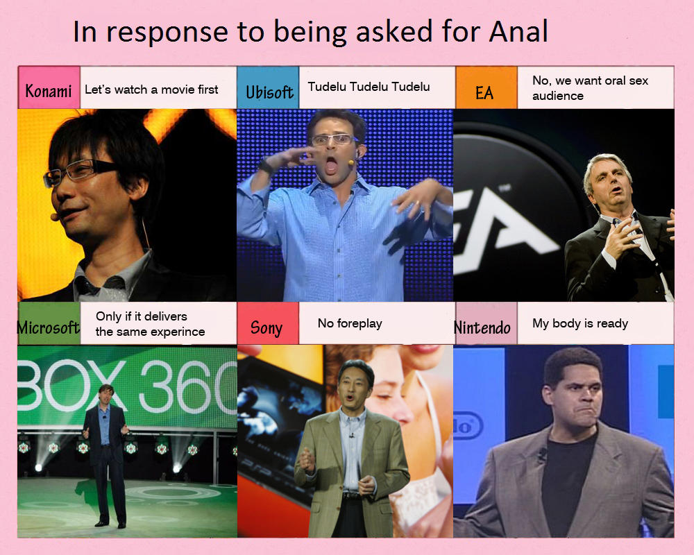 Game companies respond to being asked for Anal | Zelda's ... Zelda In Response To Being Told