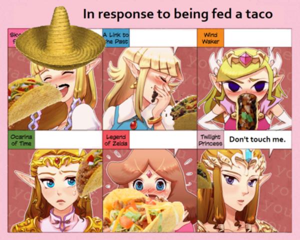 Taco | Zelda's Response | Know Your Meme