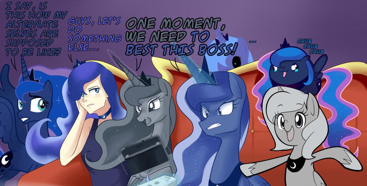 So Much Luna My Little Pony Friendship Is Magic Know