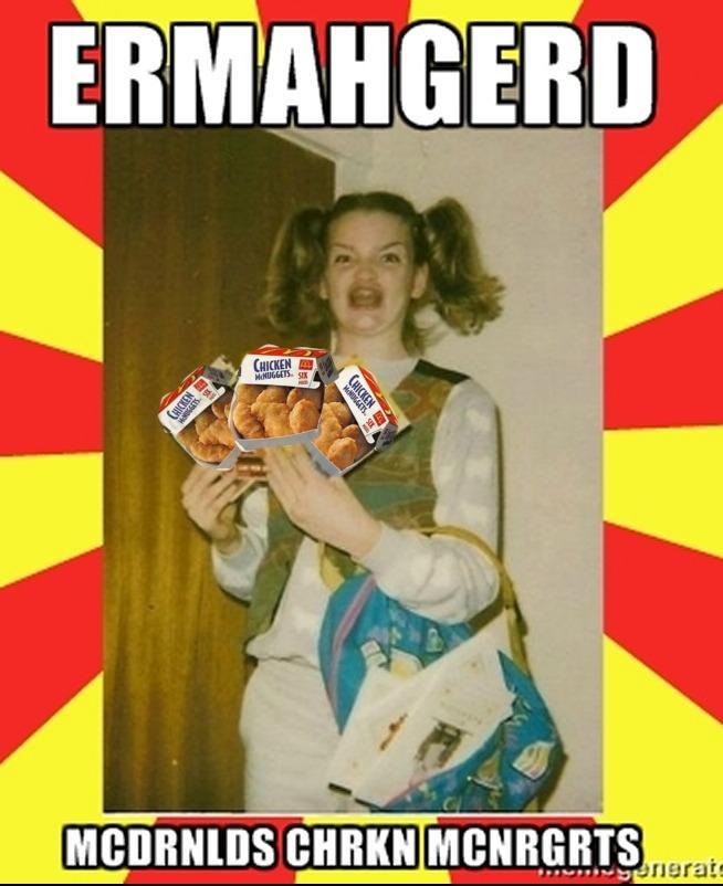 f54 mcnrgrts ermahgerd know your meme