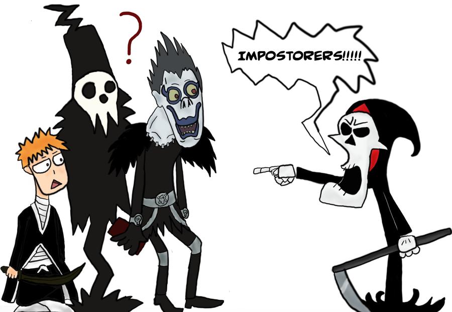 Grim Reaper Vs Shinigami Alternate Universe Know Your Meme