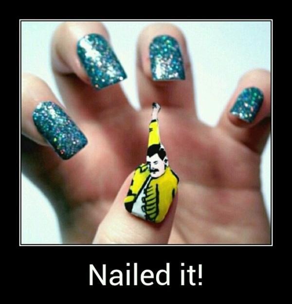 537 nail art know your meme,Meme Nail Art
