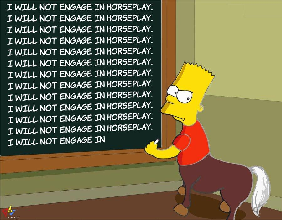 Image - 484170 | Bart Simpson's Chalkboard Parodies ...