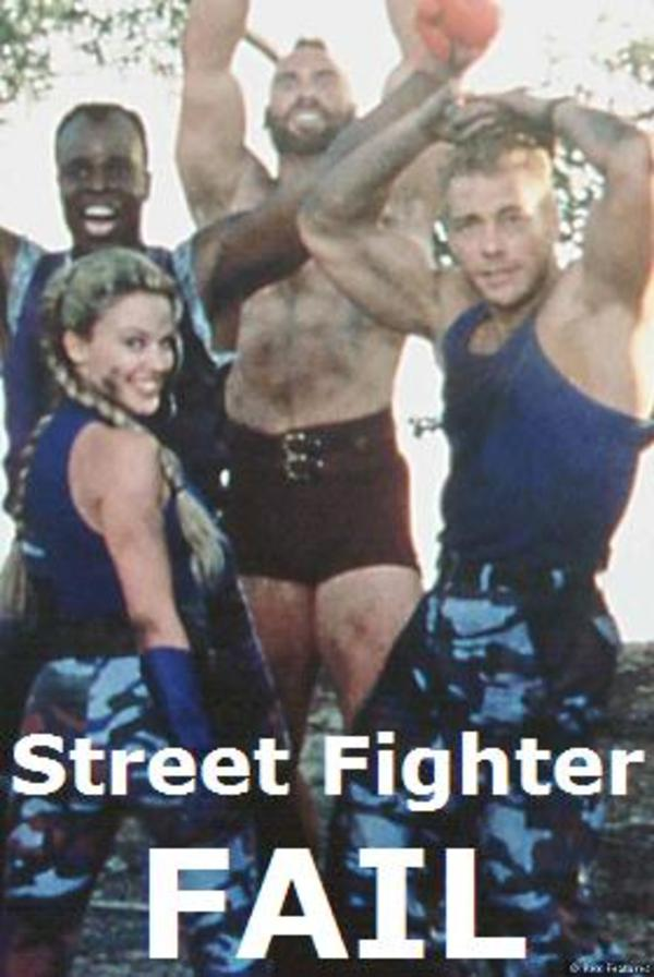 Street Figher Fail Van Damme Know Your Meme