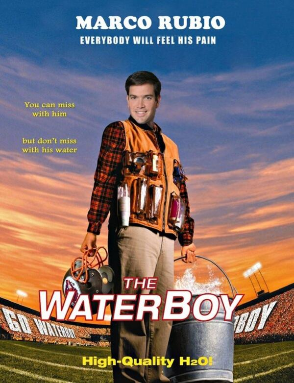 ecb marco rubio's water break image gallery know your meme,Marco Rubio Memes