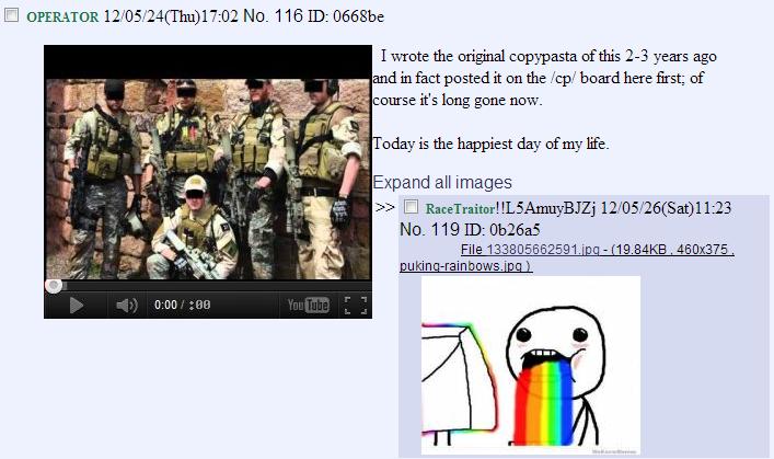 """The Real Internet """"Tough Guy"""" Navy Seal Copypasta"""