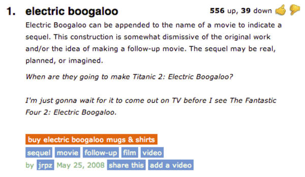 boogaloo to do