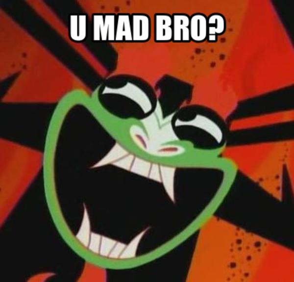 682 u mad bro? aku samurai jack know your meme