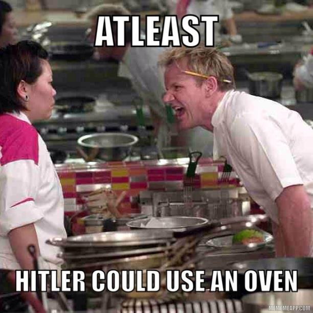 Hitler Joke Gordon Ramsay Know Your Meme