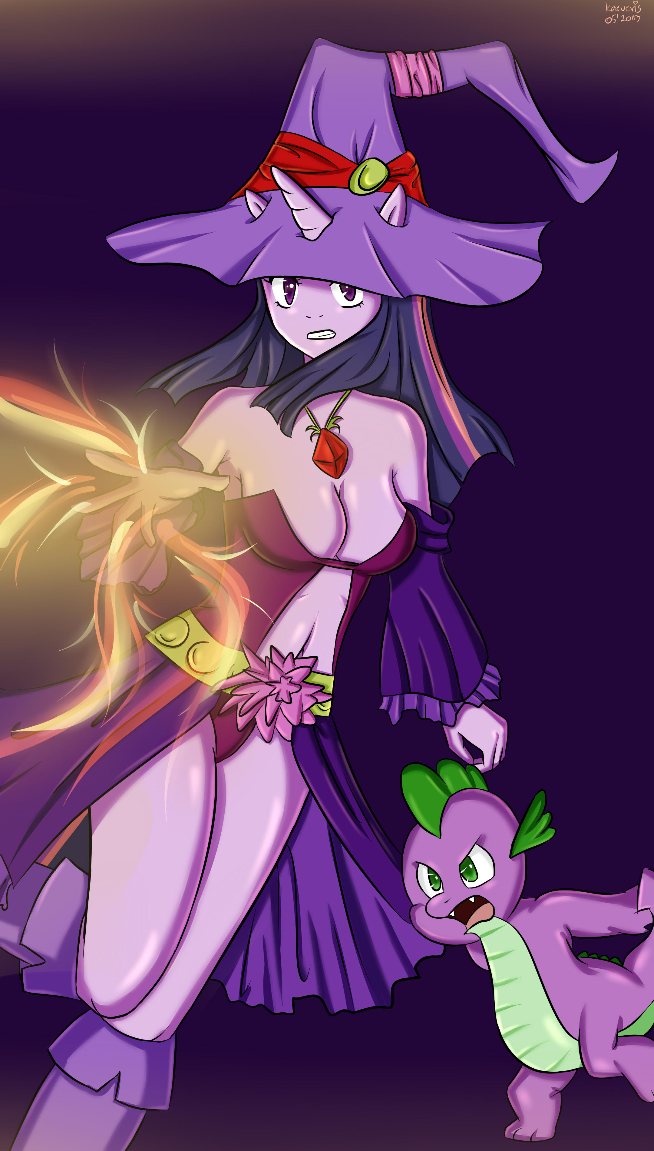 My Little Fantasy Twilight Sparkle Mage My Little Pony