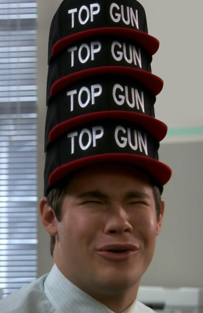 Image 541096 top gun hat know your meme for Top gun hat template