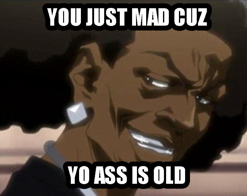 aa6 thugnificent you mad reaction images know your meme,Why You Mad Memes