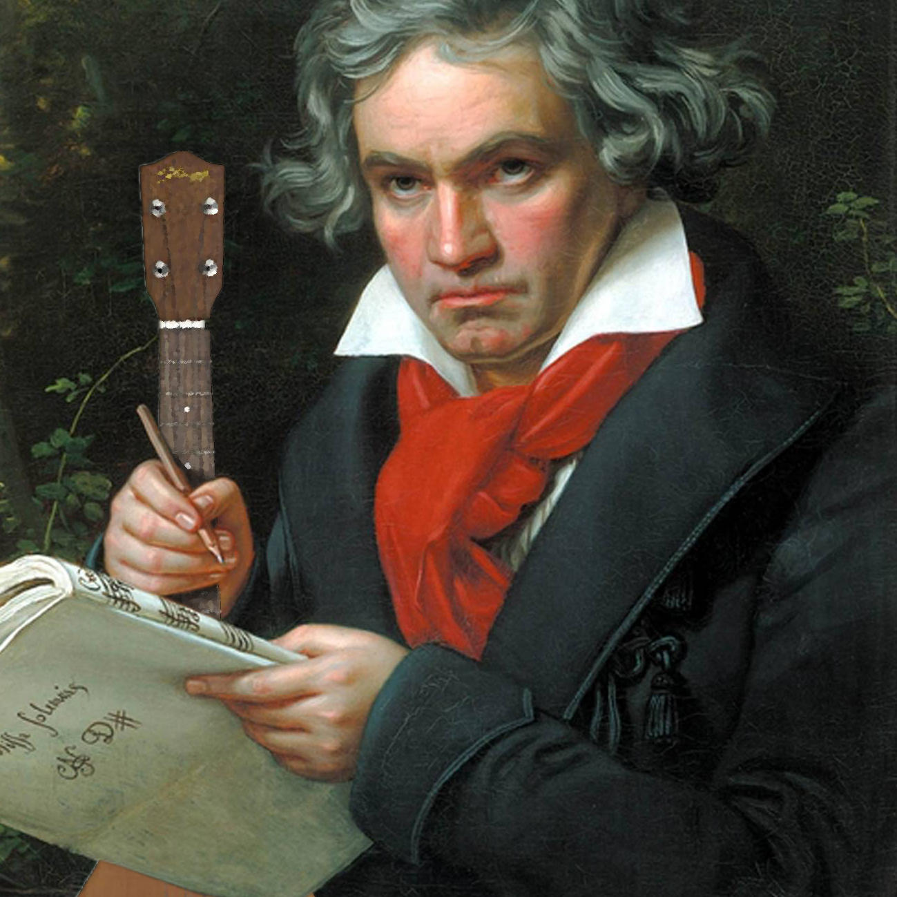 039 beethoven ukulele photoshop photoshop know your meme,Ukulele Meme