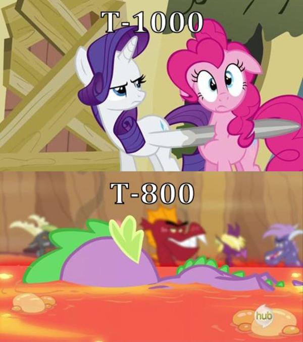 terminator ponies