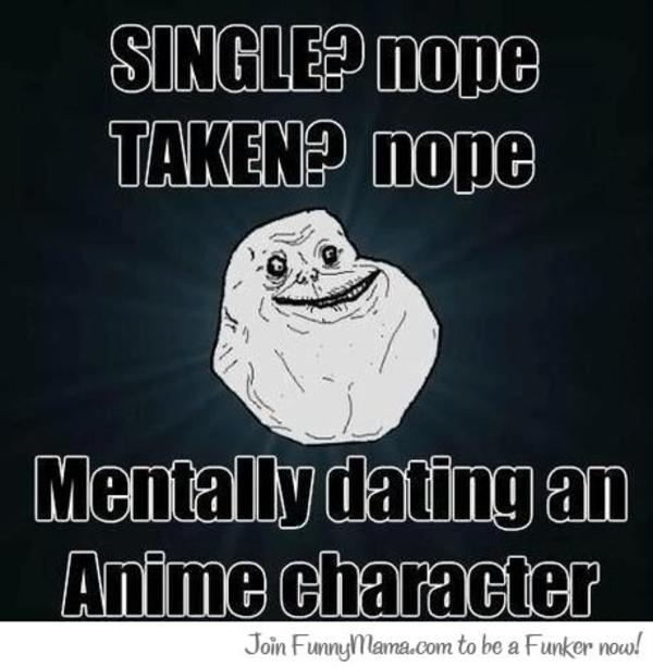 Dating anime girl meme