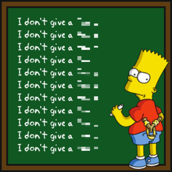 Bart Simpson S Chalkboard Parodies Know Your Meme