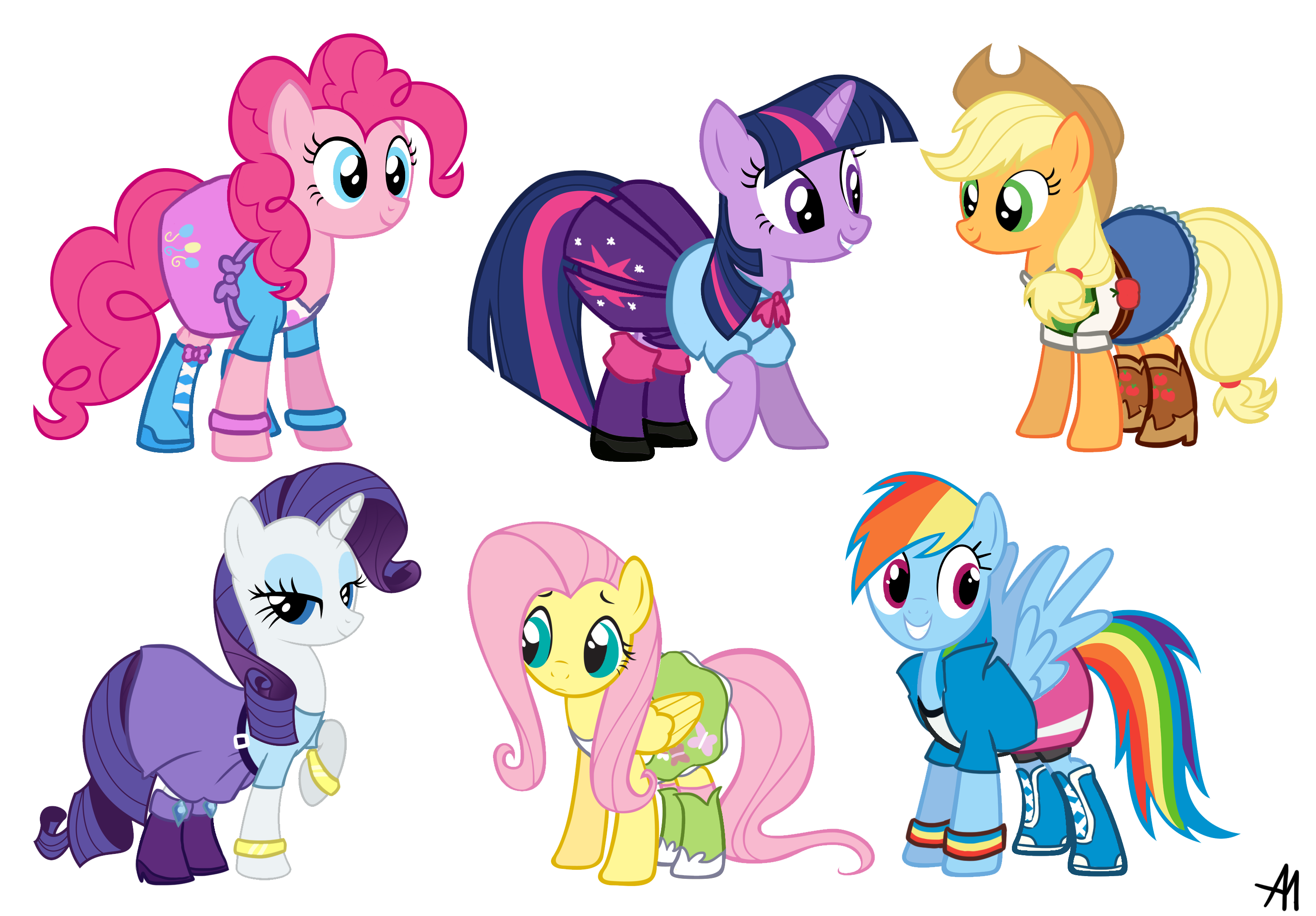 Equestria girls outfits my little pony friendship is magic know your meme - My little pony en humain ...