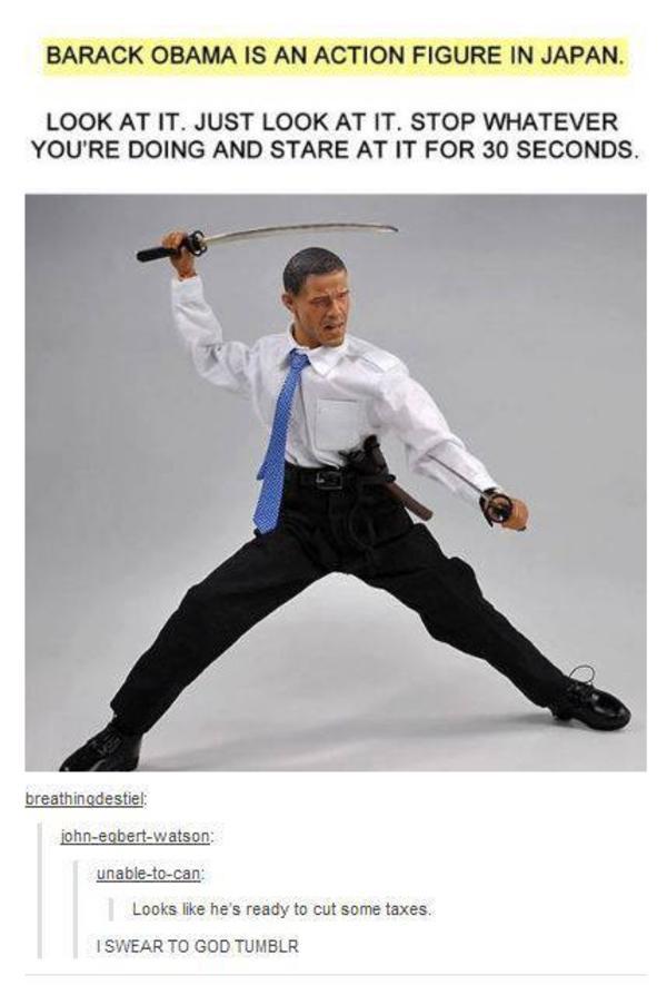 obama action figure in japan