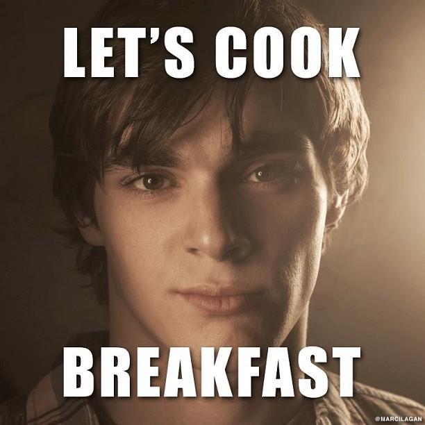 Walter jr pancakes