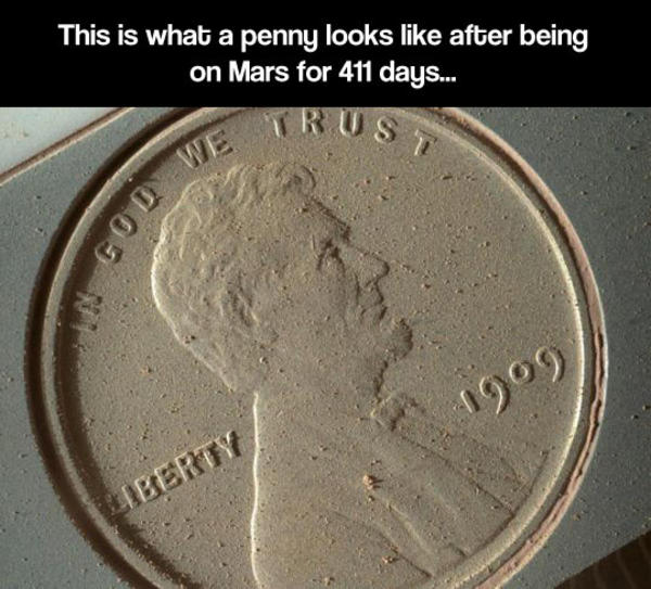 cnn mars rover picture penny - photo #2